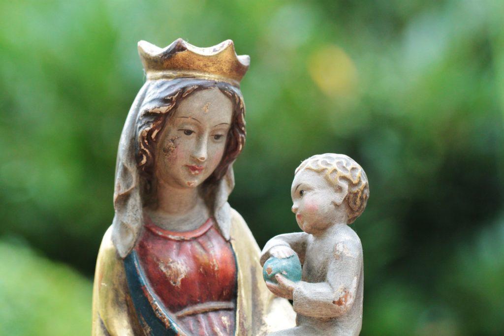 almanacco romano, Maria modello del cristiano