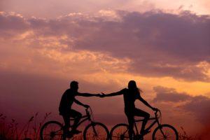 animatori laudato si', bicicletta